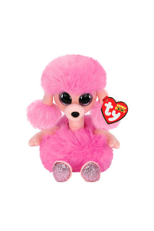 Beanie Boo's Camilla Poodle knuffel 15 cm