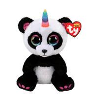 Ty Beanie Buddy Paris Panda knuffel 24 cm