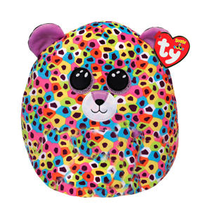 Squish a Boo Giselle Leopard knuffel 31 cm