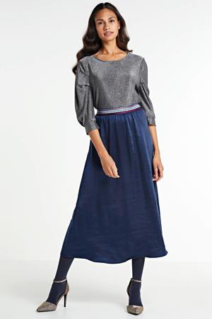 rok donkerblauw