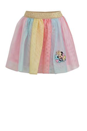 Minnie Mouse rok roze/blauw/geel