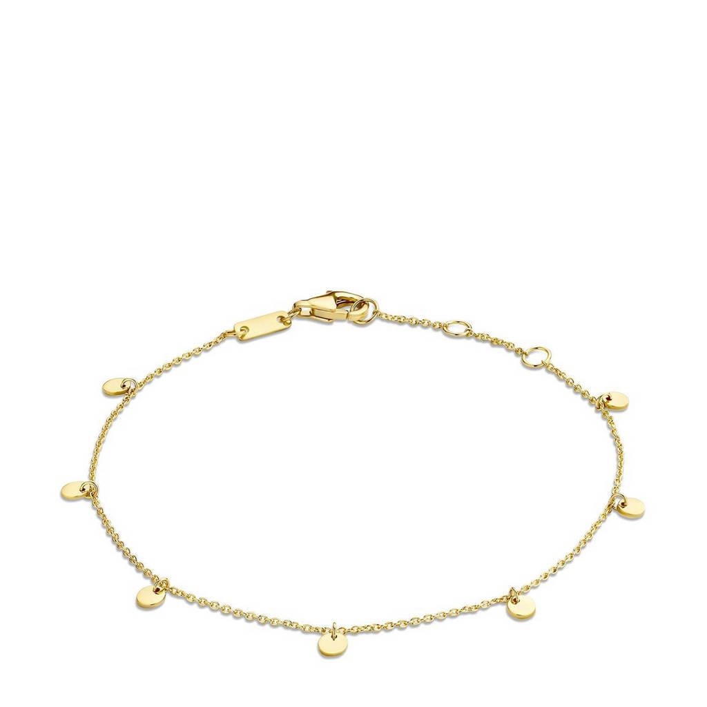 Isabel Bernard 14 karaat gouden armband - IB4020752, Goudkleurig