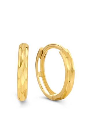 14 karaat gouden oorbellen - IB4-BFDG118