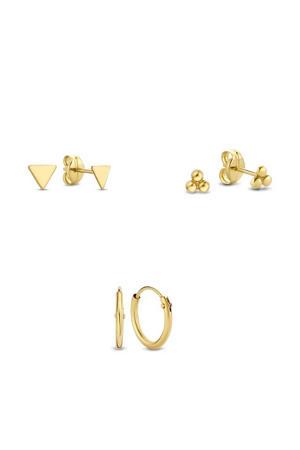 14 karaat gouden oorbellen - IB90009