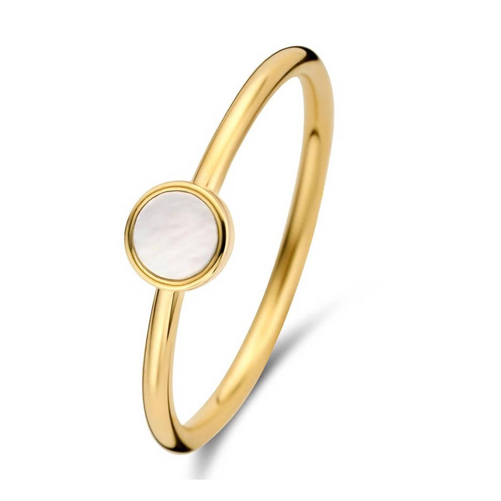Isabel Bernard 14 karaat gouden ring - IB330010, Goudkleurig
