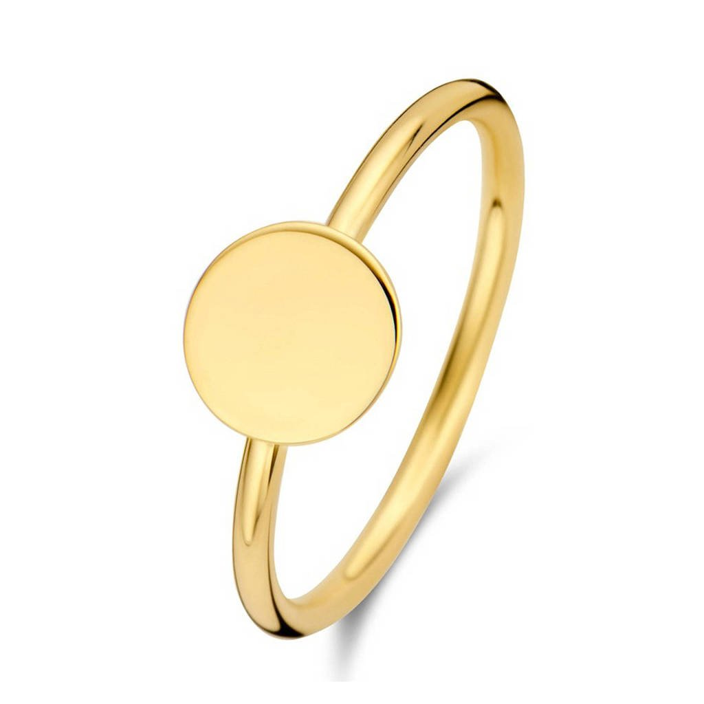 Isabel Bernard 14 karaat gouden ring - IB330012, Goudkleurig