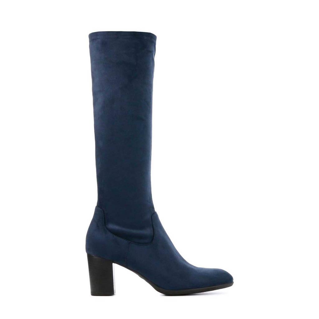 Lamica Esanna  laarzen blauw, Blauw