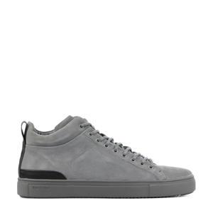 SG19  nubuck sneakers grijs
