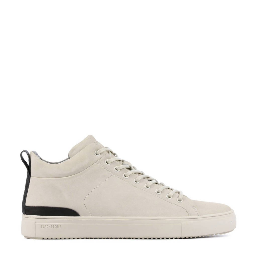 Blackstone SG19  nubuck sneakers off white, Off White
