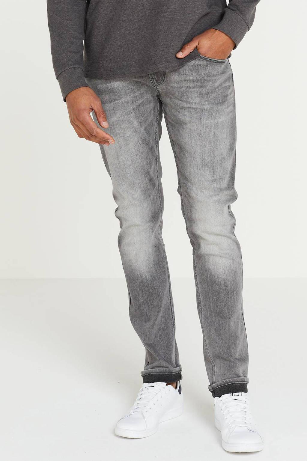 PME Legend slim fit jeans Tailplane grijs, Grijs