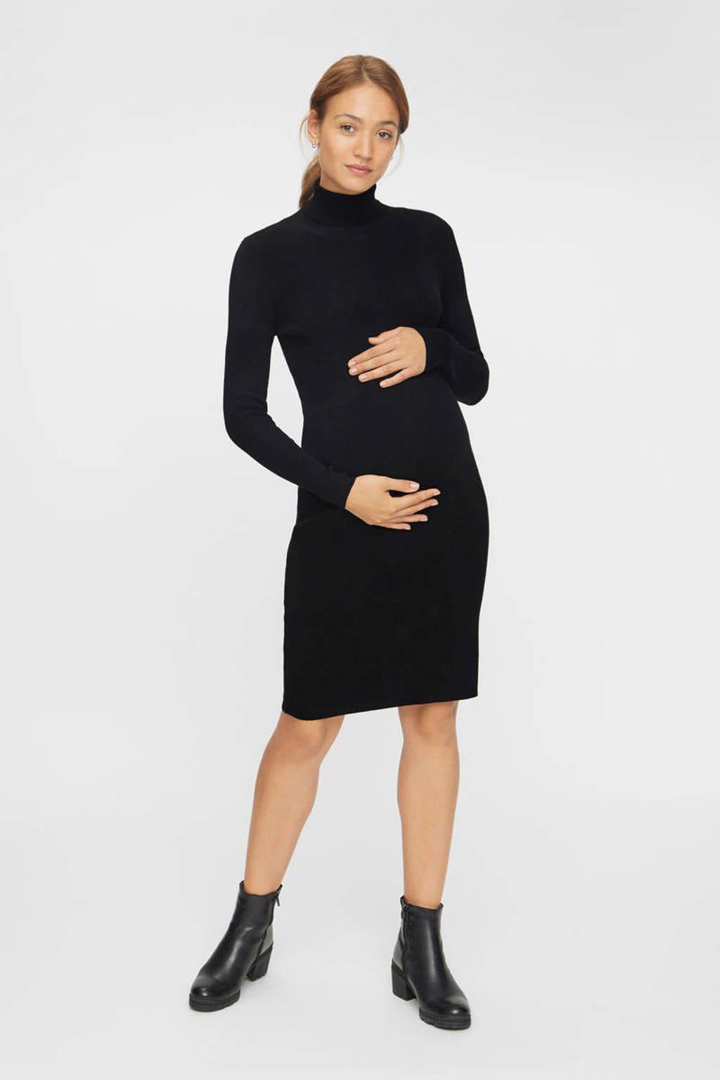MAMALICIOUS zwangerschapsjurk Jacina zwart, Zwart