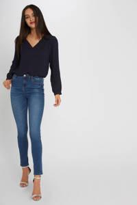 Morgan slim fit jeans blauw, Blauw
