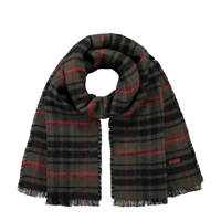 Barts sjaal Valence kaki/zwart, Kaki/zwart