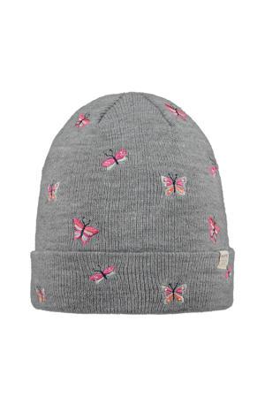 muts Margia grijs/roze