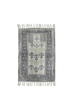 badmat (60x90 cm) Zwart/wit