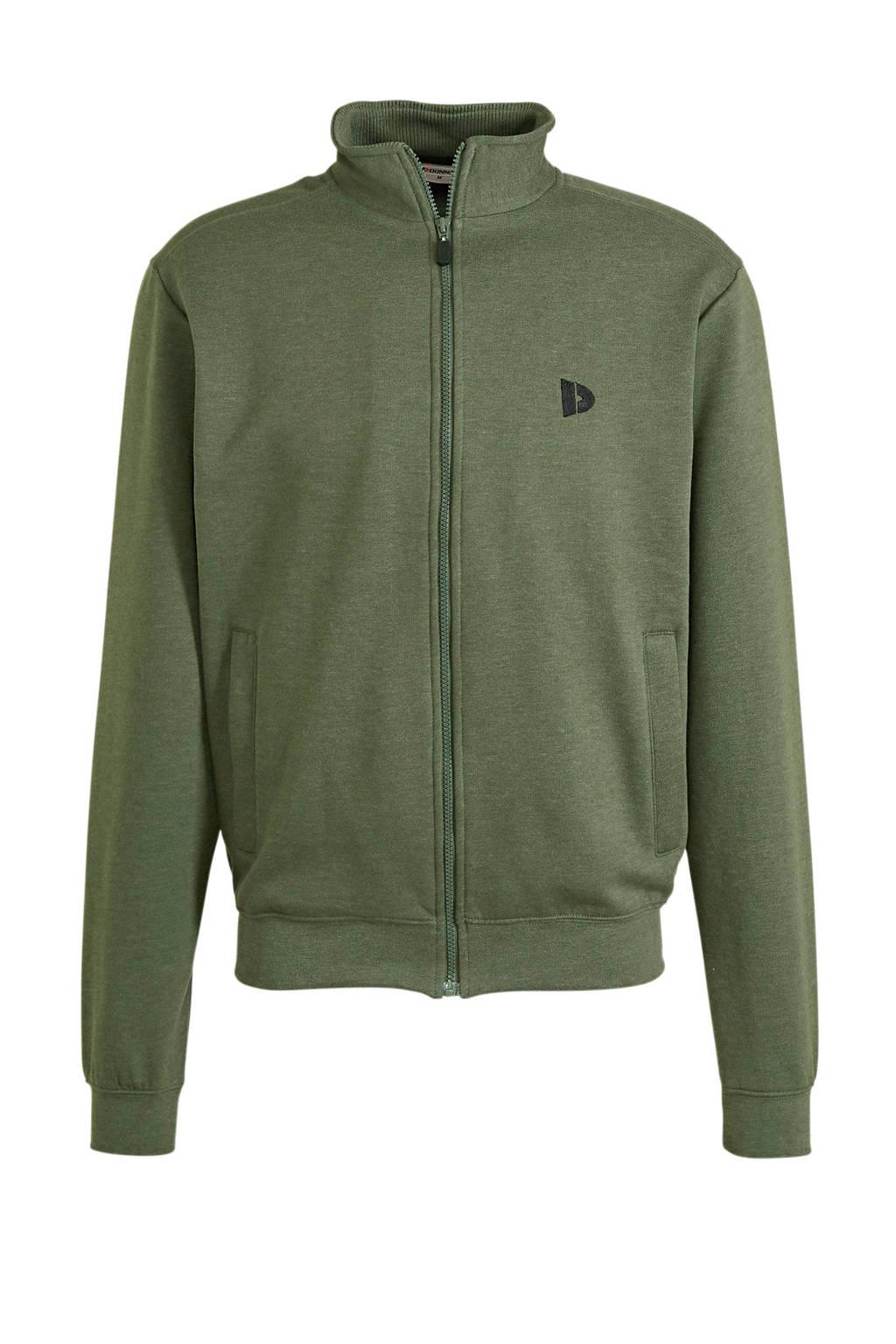 Donnay   sportvest groen, Groen
