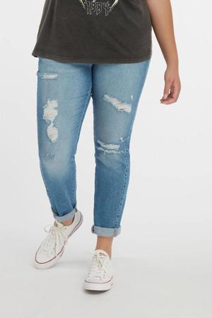 mom jeans stonewashed