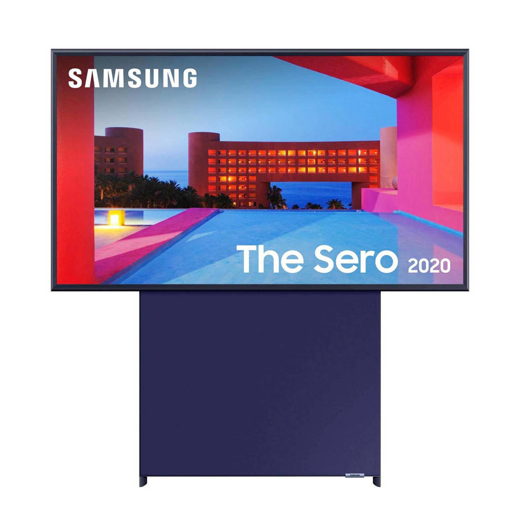 Samsung The Sero QLED tv 43 inch, Blauw