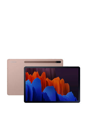 Galaxy Tab S7+ 128GB Wifi tablet (Brons)