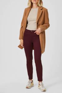 C&A Yessica high waist skinny jeans donkerrood, Donkerrood
