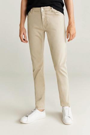 slim fit jeans lichtbeige