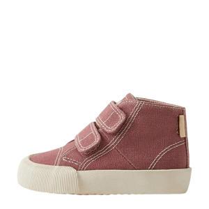 hoge sneakers roze