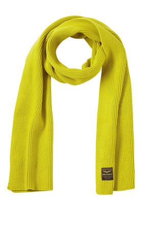sjaal neon geel