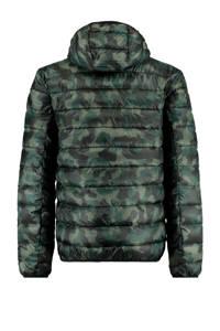 America Today jack tussen Jester met camouflageprint groen, Groen