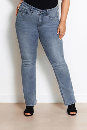 BILI True Blue light denim high rise fit bootcut jeans