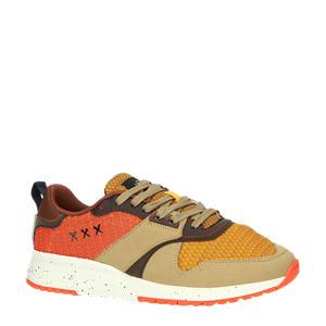 Vivex  suède sneakers bruin/multi