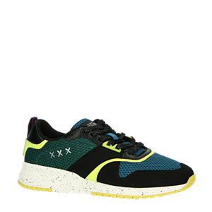 Vivex  suède sneakers zwart/multi