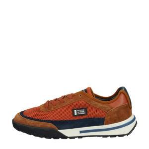 Kagann Running Low  suède sneakers brique