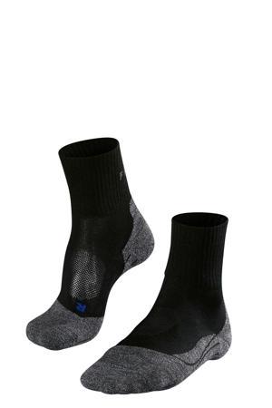TK2 Short Cool wandelsokken zwart/grijs