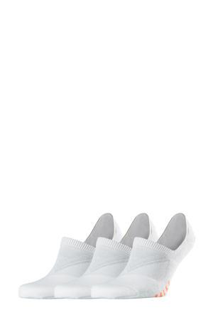 Cool Kick Invisible sneakersokken - set van 3 wit