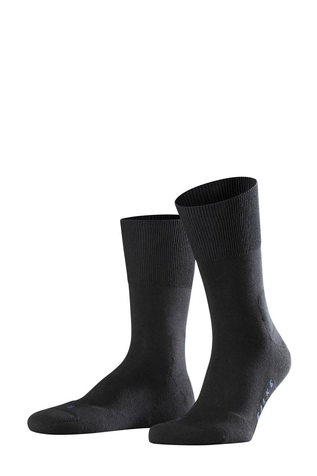 FALKE Run sokken zwart, Zwart