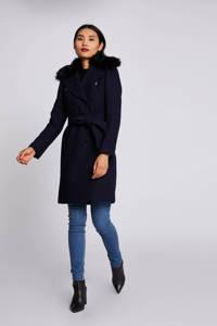Morgan coat winter met wol marine, Marine