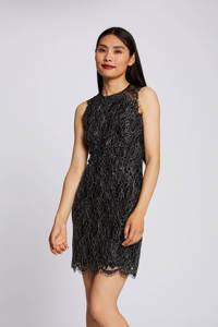 Morgan kanten jurk met kant zwart, Zwart