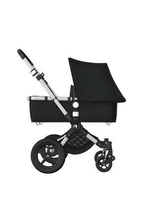 Cameleon 3 plus kinderwagen/stoel/reiswieg, aluminium frame/zwarte stof/zwarte zonnekap