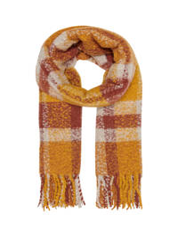 ONLY sjaal oranje/rood, Oranje