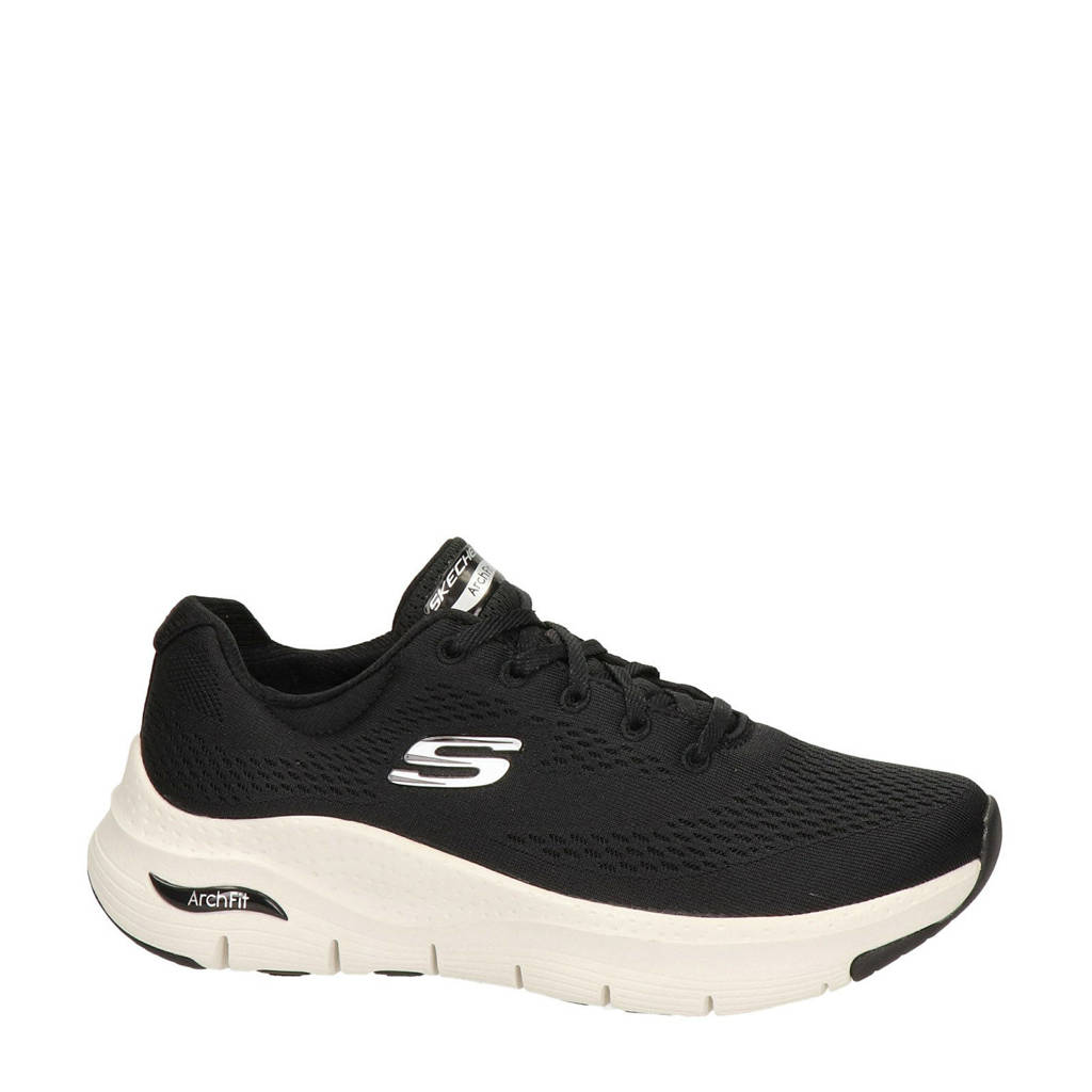 Skechers Arch Fit  sneakers zwart, Zwarit/Wit