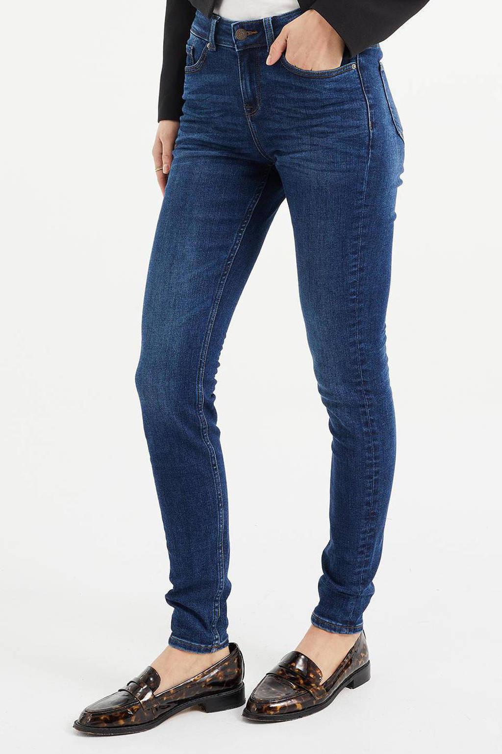 WE Fashion Blue Ridge super skinny jeans night blue, NIGHT BLUE