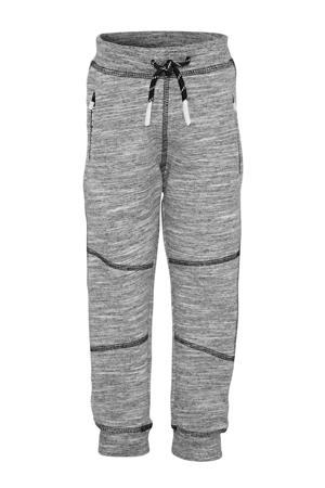gemêleerde broek Namic met biologisch katoen grijs melange