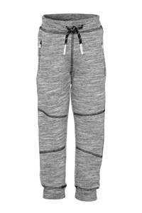 NAME IT MINI gemêleerde joggingbroek Namic met biologisch katoen grijs melange, Grijs melange