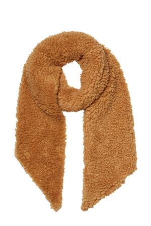 teddy sjaal camel