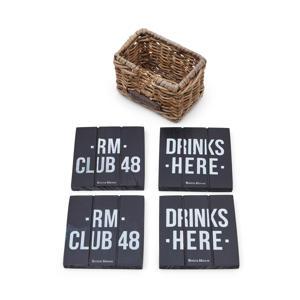 onderzetters Club 48  (Ø7 cm)