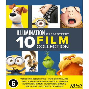 Illumination 10 movie collection (Blu-ray)