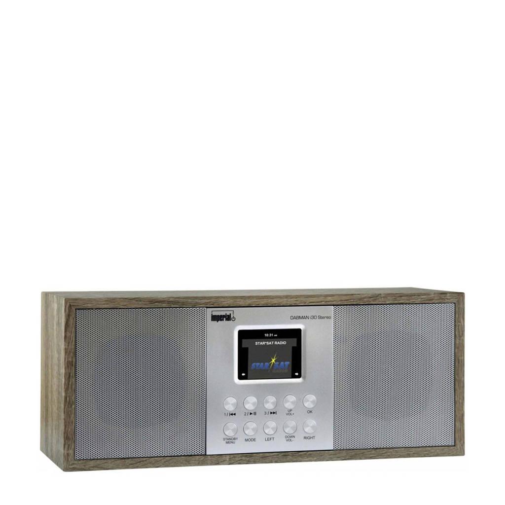 Imperial Dabman i30 Dab/Dab+ radio (lichtbruin), Lichtbruin