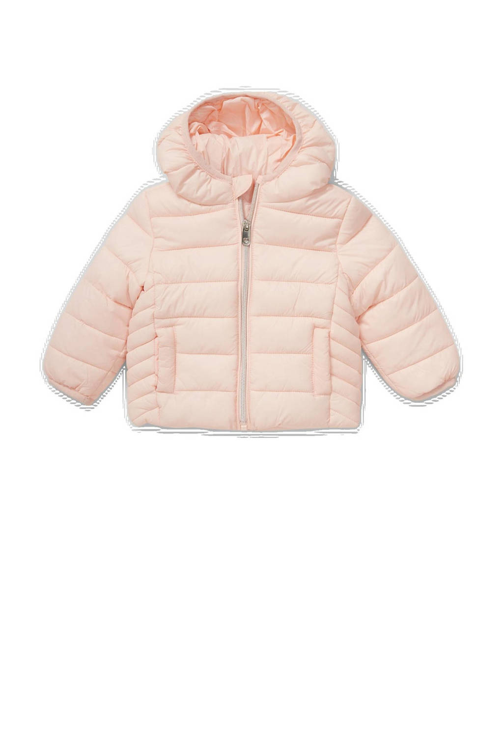C&A Baby Club baby gewatteerde jas lichtroze, Lichtroze
