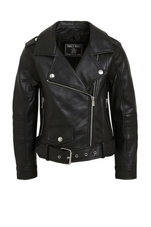 coated bikerjack zwart