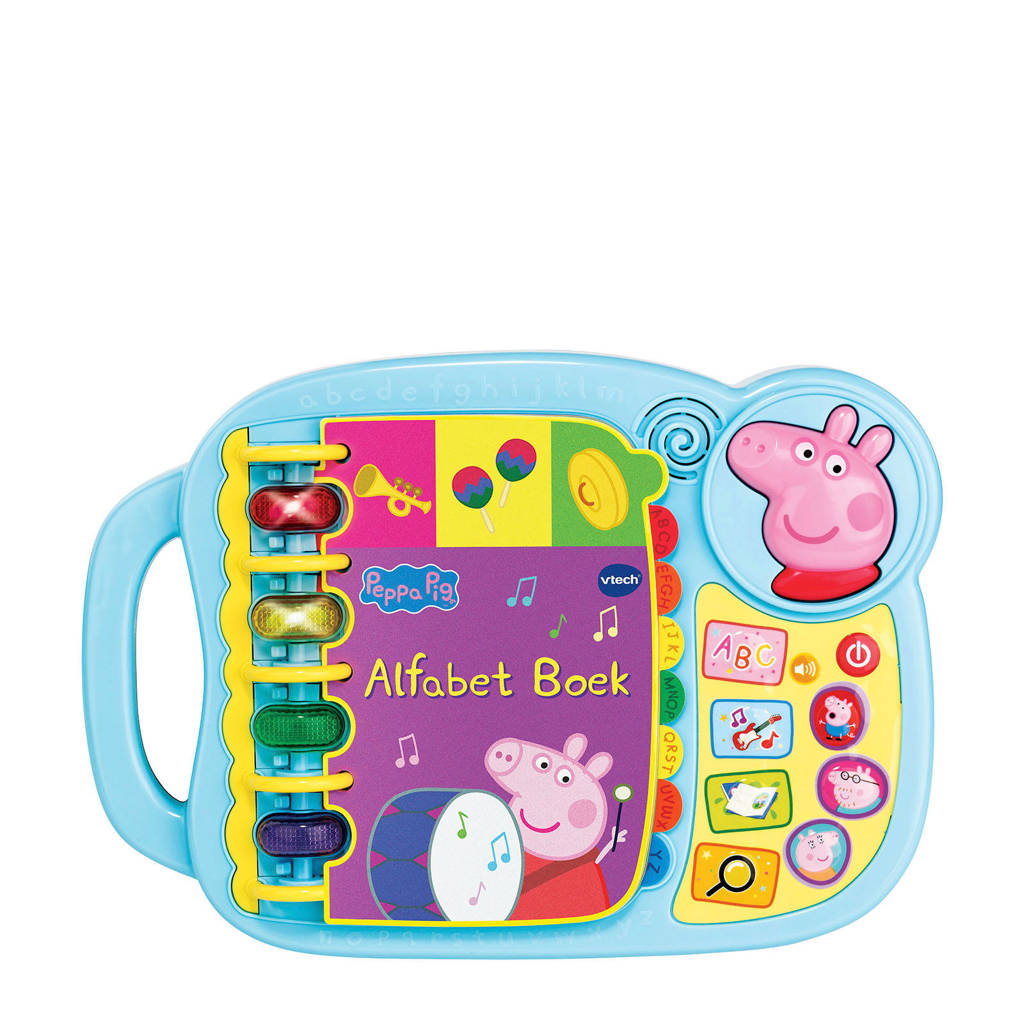 VTech  Peppa Pig - Alfabet Boek, Multi kleuren